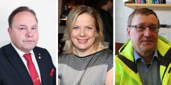 Robert Ylitalo, Elisabeth Landby, Börje Johansson