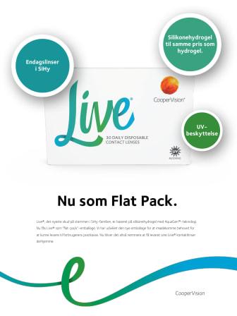 Live® - Nu som Flat Pack.