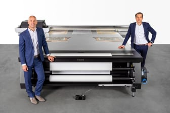 Dirk Brouns and Martijn van Hoorn, Canon Production Printing