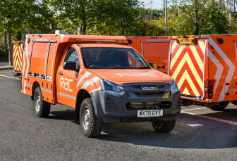 The 2020 RAC Heavy Duty patrol van