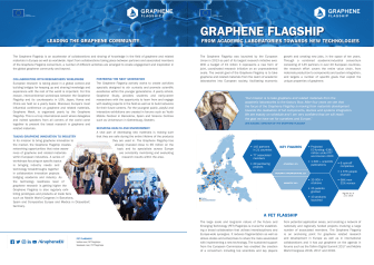 Graphene Flagship - From academic laboratories to new technologies