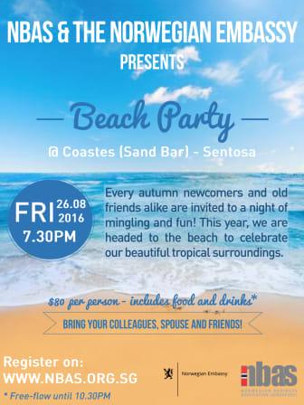 BEACH PARTY 26 August 2016