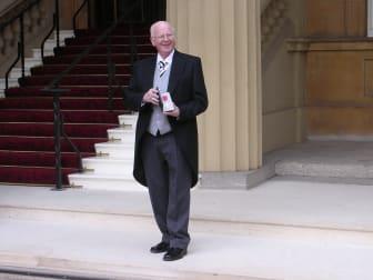 Tommy Nicholl Buckingham Palace