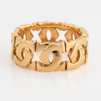 Cartier ring 18K guld Double C