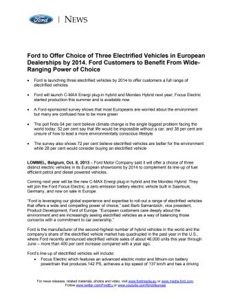 FORD FUTURES - POWER OF CHOICE (EU)