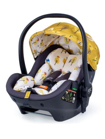 RAC Port i-size car seat - Spot the Birdie design