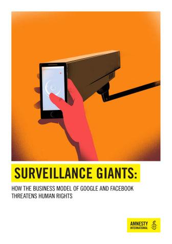 Facebooks och Googles omfattande övervakning hotar mänskliga rättigheter