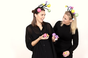 Jessica Malmberg och Caroline Ekstrandh från MiNDiGO, fotograf Victor Ackerheim