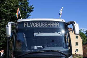Flygbussarna Stockholm Pride Parade 2015