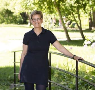 Stadsträdgårdsmästare Petra Lindvall