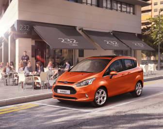 Fords nya B-MAX premiärvisas på bilmässan i Genève - bild 2