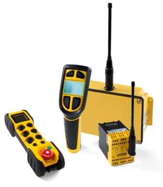 Radiostyrning med säkert nödstopp från JAY Electronique