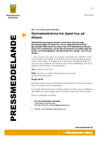 pressmeddelande öppet hus distans.pdf