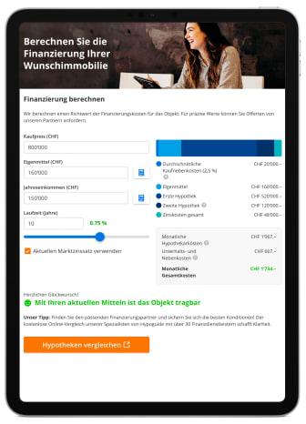Presse iPad Finanzierung berechnen_FinanceScout24