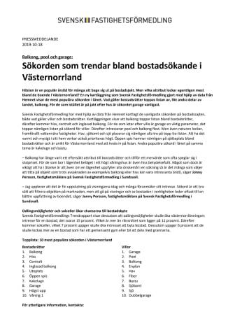 Balkong, pool och garage: Sökorden som trendar bland bostadsökande i Västernorrland