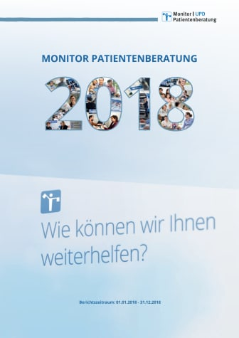 Monitor Patientenberatung 2018
