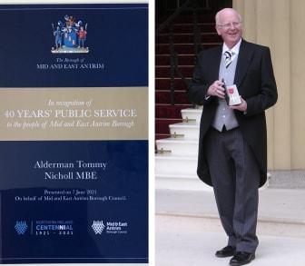 Alderman Tommy Nicholl MBE