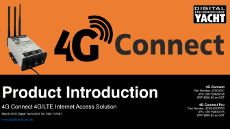Digital Yacht's 4G Connect brings internet onboard for Australian boaters