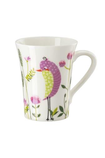 HR_My_Mug_Collection_Birdies_Pink_Becher_mit_Henkel