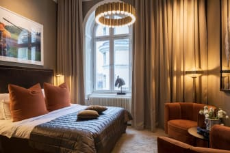 Classic King room at Lydmar Hotel