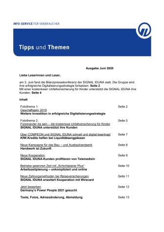 Tipps und Themen 6-2020