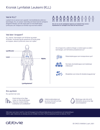 Kronisk lymfatisk leukemi, faktablad