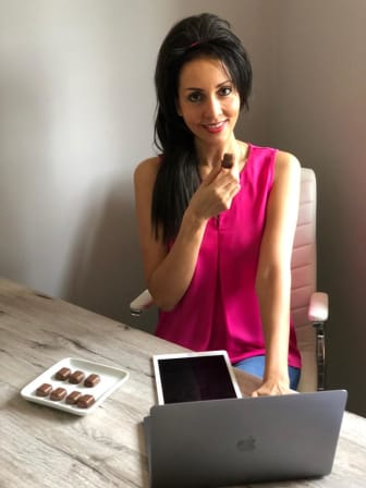 Mondelez International Chocolate Taster Amanda Greenwood