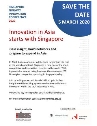 SNIC 2020: Innovation in Asia starts with Singapore
