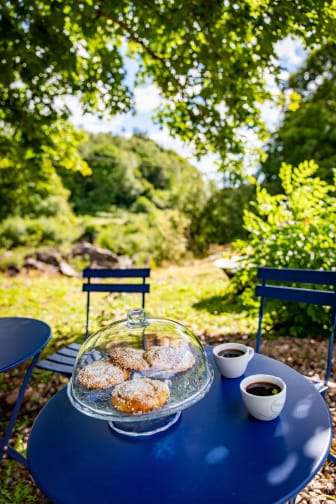 Brus café med fika_Foto Caroline Andersson