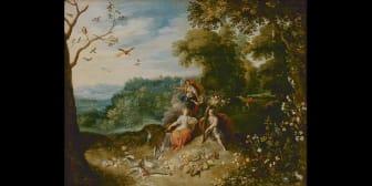 De fyra årstiderna - Jan Brueghel d.ä