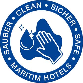 Hygienesiegel Maritim Hotels hochaufgelöst