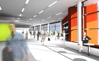 Ombyggnation Umeå Airport
