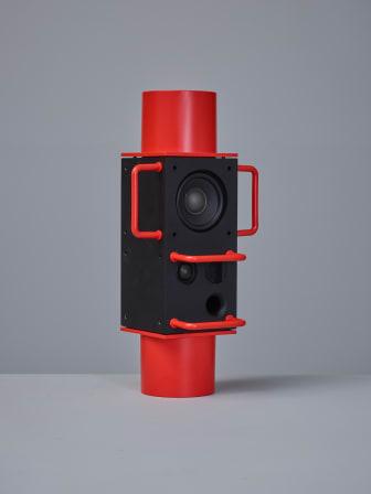 ÅretsInredningsföremål_1Bärbara ljud- och ljussystemet Frekvens av Teenage Engineering för Ikea