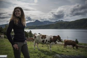 Cattle farmer Anne Guro Dahle