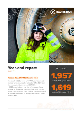 Year-end Report 2020