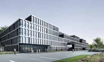Visualisierung neues Konzernhaus in Köln (Copyright: MHM architects, Wien)
