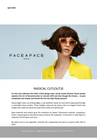 Radical cut(out)s by FACE A FACE