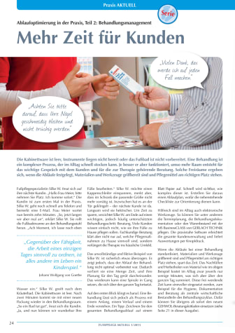 Ablaufoptimierung in der Praxis: Behandlungsmanagement - Mehr Zeit für Kunden