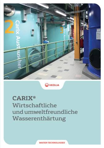 CARIX® Wirtschaftliche und umweltfreundliche Wasserenthärtung