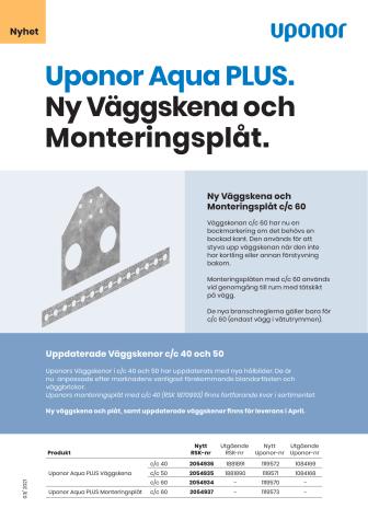 Nyhet 202104 Uponor Väggskena och Monteringsplåt.pdf