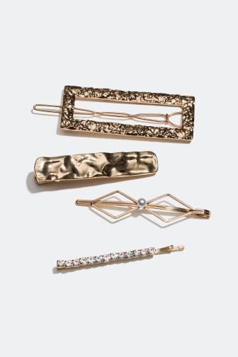 Hair clips 4-pack 149 kr