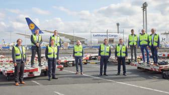 Ab Ovo und Lufthansa Cargo Management Team