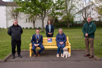 Mid and East Antrim welcome its first 'Chatty Bench'