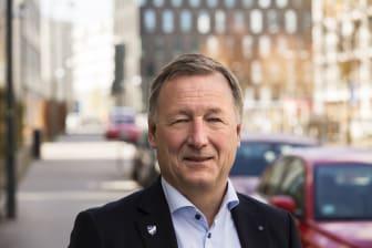 Eric Stuart, affärsområdeschef Fastighetsförvaltning
