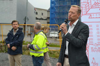 Riksbyggen tar första spadtaget för 145 lägenheter i Selma stad