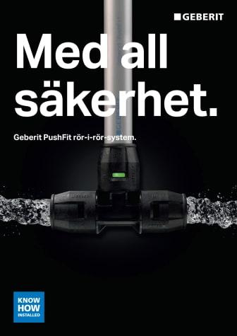 Geberit PushFit rör-i-rörsystem