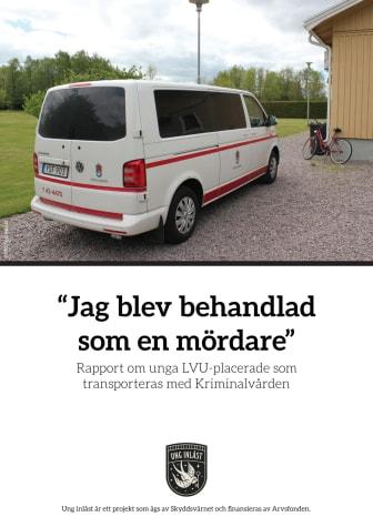 Sluta transportera barn och unga med vuxna fångar