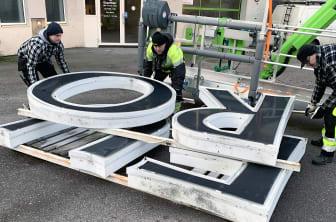 Demontering av Eurostop-skyltar Arlandastad