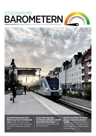 Stockholmsbarometern, kvartal 2 år 2020