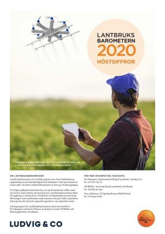 Lantbruksbarometern höst 2020